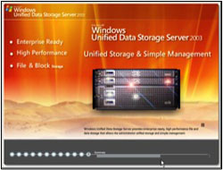 Windows Unified Data Storage Server